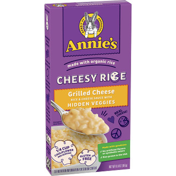 Annie's Homegrown - Chsy Rice Og3 Grilled Chs - CS of 12-6.6 OZ