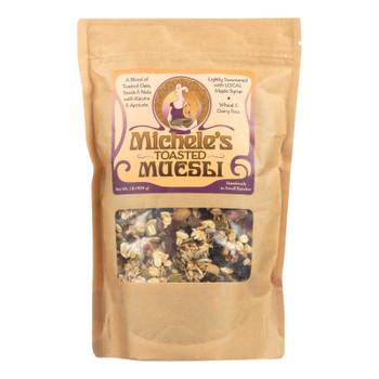 Michele's Granola - Muesli Toasted - Case of 6-16 OZ
