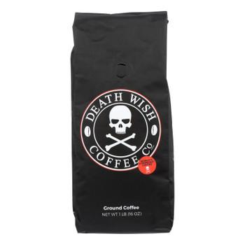 Death Wish Coffee - Coffee Ground - Case of 6-16 OZ