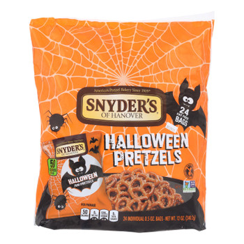 Snyder's Of Hanover - Halloween Snack Sack - Case of 6-24/.5 OZ