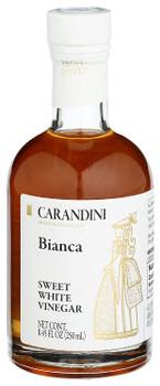 Carandini - White Vinegar Sweet Bianca - Case of 6-8.45 OZ