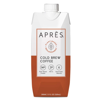 Apres - Drink Plnt Prot Cldbrw Cof - Case of 12-11 FZ