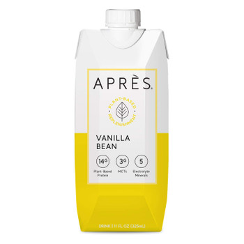 Apres - Drink Plnt Prot Vanilla Bean - Case of 12-11 FZ