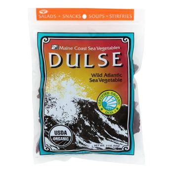 Maine Coast Organic Sea Vegetables - Dulse - Whole Leaf - 2 oz