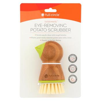 Full Circle Home Tater Mate Potato Brush with Eye Remover
