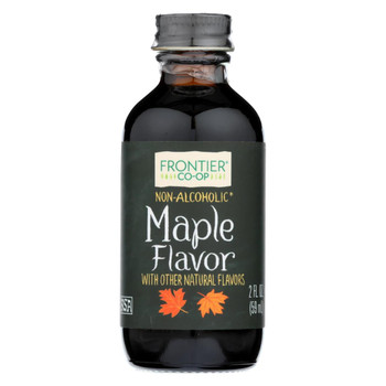 Frontier Herb Maple Flavor - 2 oz