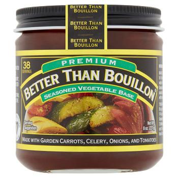 Better Than Bouillon - Premium Seasoned Vegetable Base - 8 oz