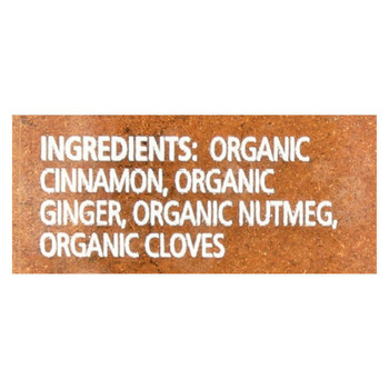 Simply Organic Pumpkin Spice - 1.94 oz.