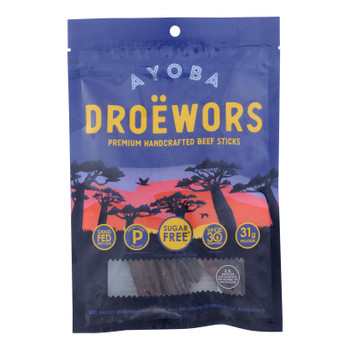 Ayoba-yo - Droewors South African Jerky - Case of 8 - 2 oz.