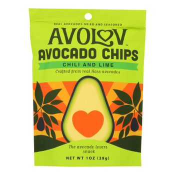 Branchout - Chips Avacado Chili Lime - Case of 12-1 OZ