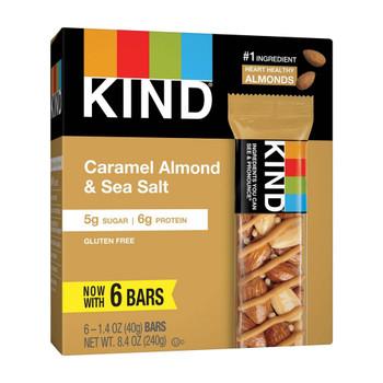 Kind - Bar Caramel Almond & Sea Salt - Case of 10 - 6/1.4 OZ