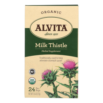 Alvita - Tea Herbal Milk Thist - 1 Each 1-24 BAG