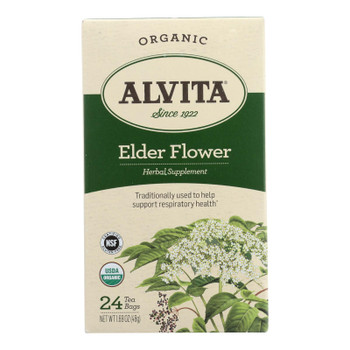 Alvita - Tea Og1 Elder Flower - EA of 1-24 BAG