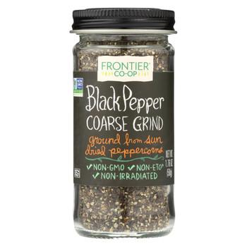 Frontier Herb Pepper - Black - Coarse Grind - 1.76 oz