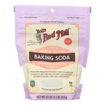 Bob's Red Mill - Baking Soda - Case of 4-16 OZ