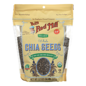 Bob's Red Mill - Seeds Chia - Case of 5-12 OZ
