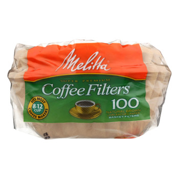 Melitta - Coffee Filter 8-12 Cup Nb - Case of 48-100 CT