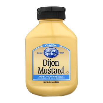 Silver Spring Mustard - Dijon - Squeeze - Case of 9 - 9.5 oz