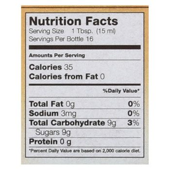 Flavorganics Organic Syrup - Caramel - 8.5 oz