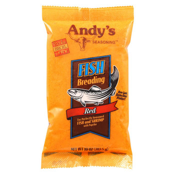 andys Batter - Fish - Red - Case of 12 - 10 oz