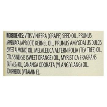Aura Cacia Aromatherapy Bath Body and Massage Oil Tea Tree Harvest - 4 fl oz