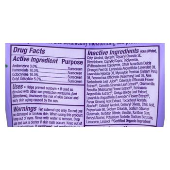 Alba Botanica - Very Emollient Natural Sunblock SPF 45 Pure Lavender - 4 fl oz