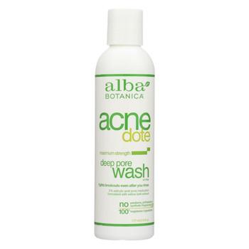 Alba Botanica Natural Acnedote Deep Pore Wash - 6 fl oz