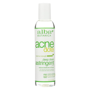 Alba Botanica Acnedote Deep Clean Astringent - 6 oz