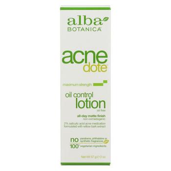 Alba Botanica - Natural Acnedote Oil Control Lotion - 2 fl oz
