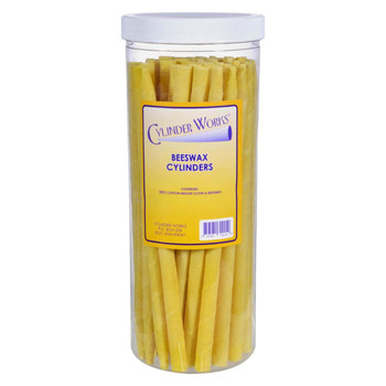 Cylinder Works Herbal Beeswax Ear Candles - 50 Pack
