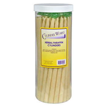 Cylinder Works - Paraffin Candles - Herbal - 50 Pack