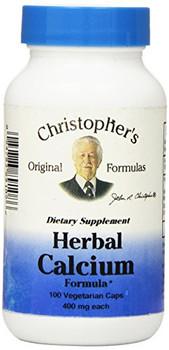 Dr. Christopher's Formulas Herbal Calcium Formula - 425 mg - 100 Caps