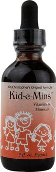 Dr. Christopher's Kid-e-Mins Vitamins and Minerals Orange - 2 fl oz