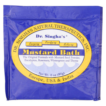 Dr. Singha's Mustard Bath - 2 oz