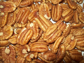 Bulk Nuts - Raw Fancy Junior Mammoth Pecans - Case of 30 - 1 lb.