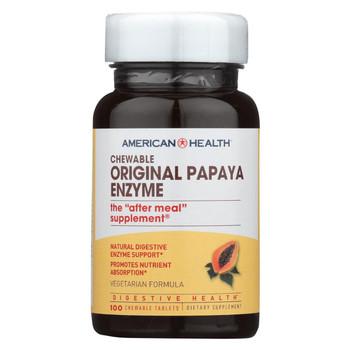 American Health Original Papaya Enzyme - 100 Tablets