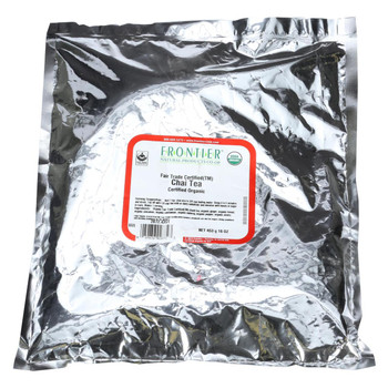 Frontier Herb Tea - Organic - Fair Trade Certified - Chai - Bulk - 1 lb