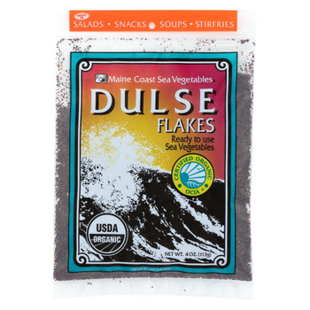 Maine Coast Organic Sea Vegetables - Dulse - Flakes - 4 oz