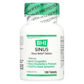 BHI - Sinus Relief - 100 Tablets