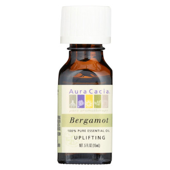 Aura Cacia Essential Oil - Bergamot Uplifting - .5 oz