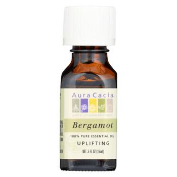 Aura Cacia - Essential Oil - Bergamot Uplifting - .5 oz