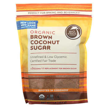 Big Tree Farms Coconut Palm Sugar - Blonde - Case of 6 - 16 oz.