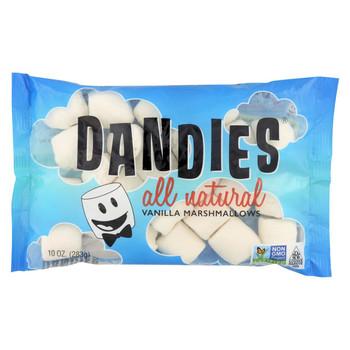 Dandies - Air Puffed Marshmallows - Classic Vanilla - Case of 12 - 10 oz.