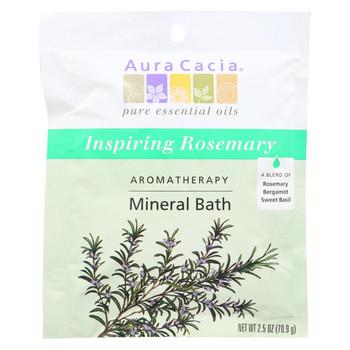 Aura Cacia - Aromatherapy Mineral Bath Inspiration - 2.5 oz - Case of 6