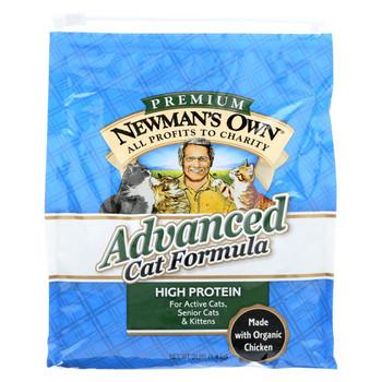 Newman's Own Organics Advanced Cat Formula - Case of 8 - 3 lb.
