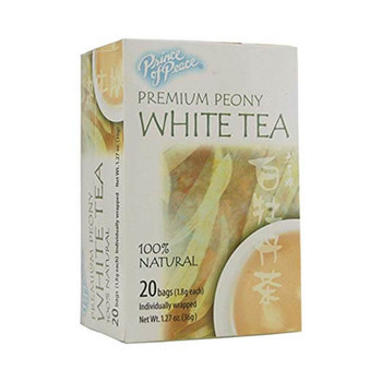 Prince of Peace Natural Premium Peony White Tea - 20 Tea Bags