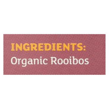 Equal Exchange Organic Rooibos Tea - Rooibos Tea - Case of 6 - 20 Bags