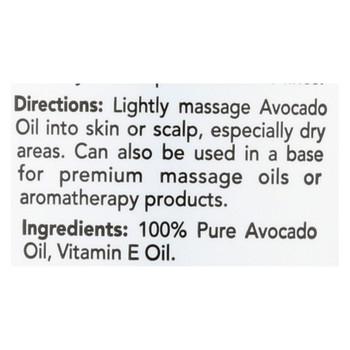 Hobe Labs Hobe Naturals Avocado Oil - 4 fl oz