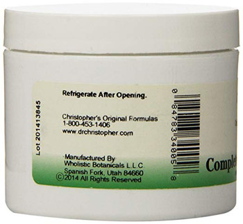 Dr. Christopher's Formulas Complete Tissue and Bone Ointment - 4 oz