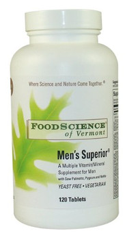 FoodScience of Vermont Men's Superior - 120 Tablets
